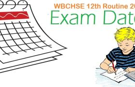WBCHSE 12th Routine 2016