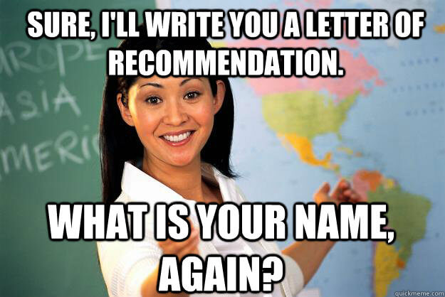 Teachers Pet or Genius Your Guide to Getting a Letter of Recommendation  College Magazine