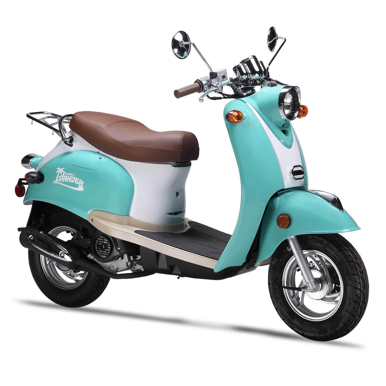 hight resolution of islander campus scooter