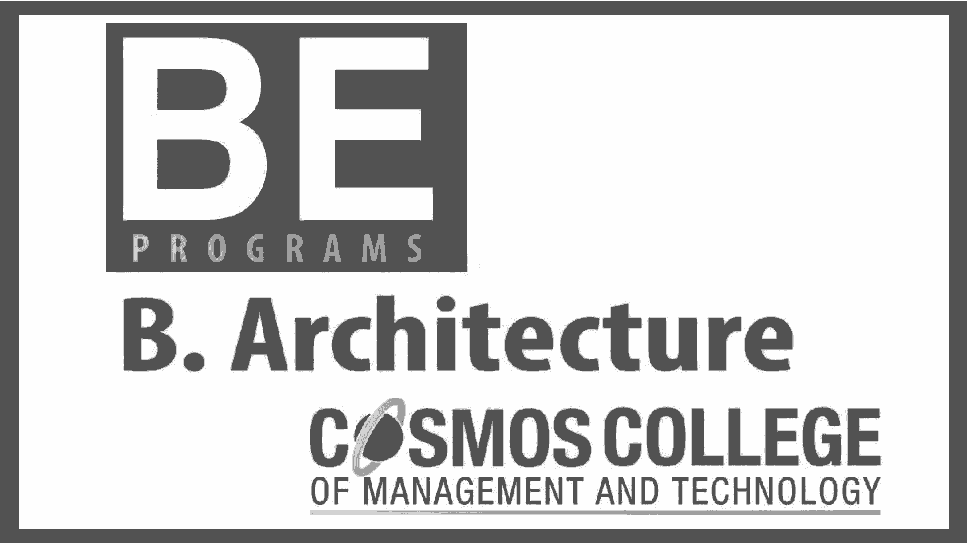 BE Programs Admission Open at Cosmos College of Management
