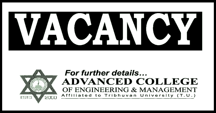 Advanced College of Engineering and Management Vacancy