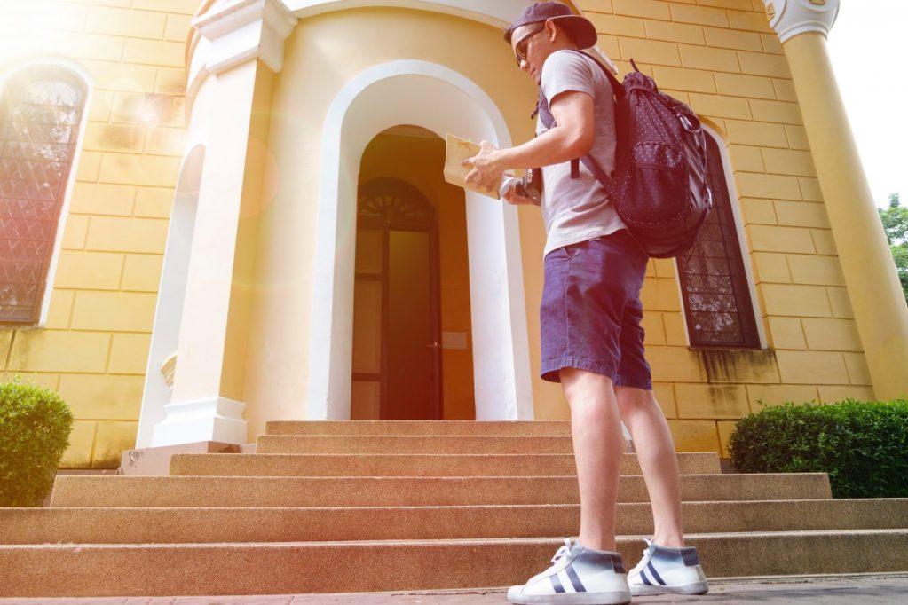 college visits campus tours