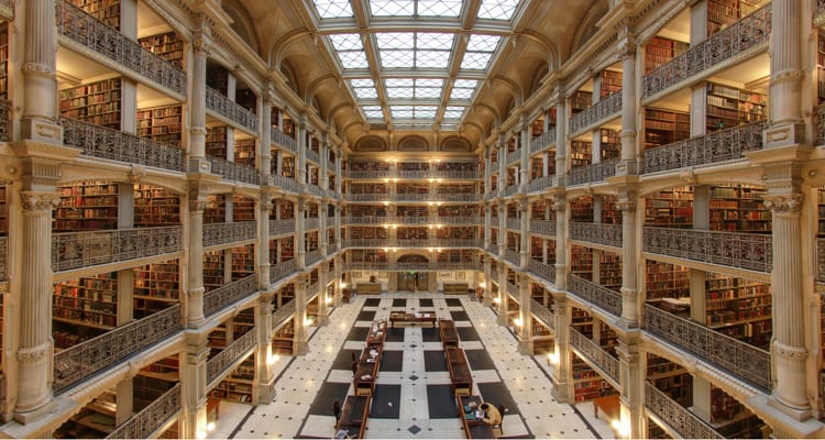 50-amazing-libraries-george-peabody-johns-hopkins