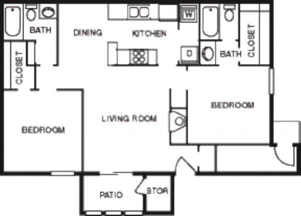 Cedar Glade apartments in Tulsa, Oklahoma