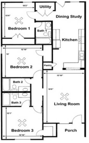 Paloma Ridge Duplexes apartments in College Station, Texas