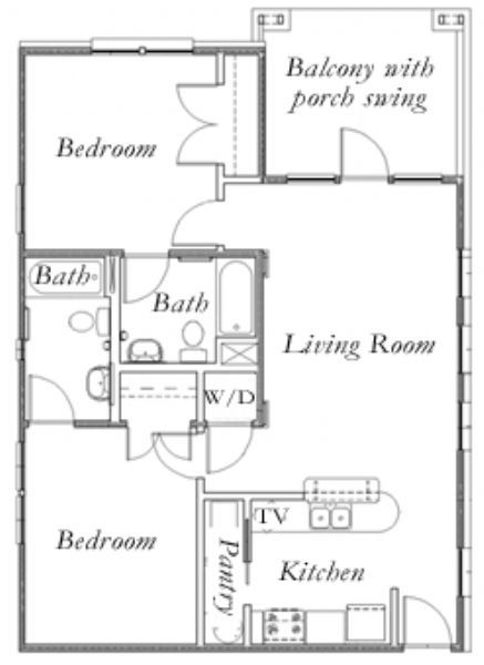 Palm Villas apartments in Gainesville, Florida