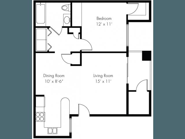 Pala Mesa apartments in Mesa, Arizona
