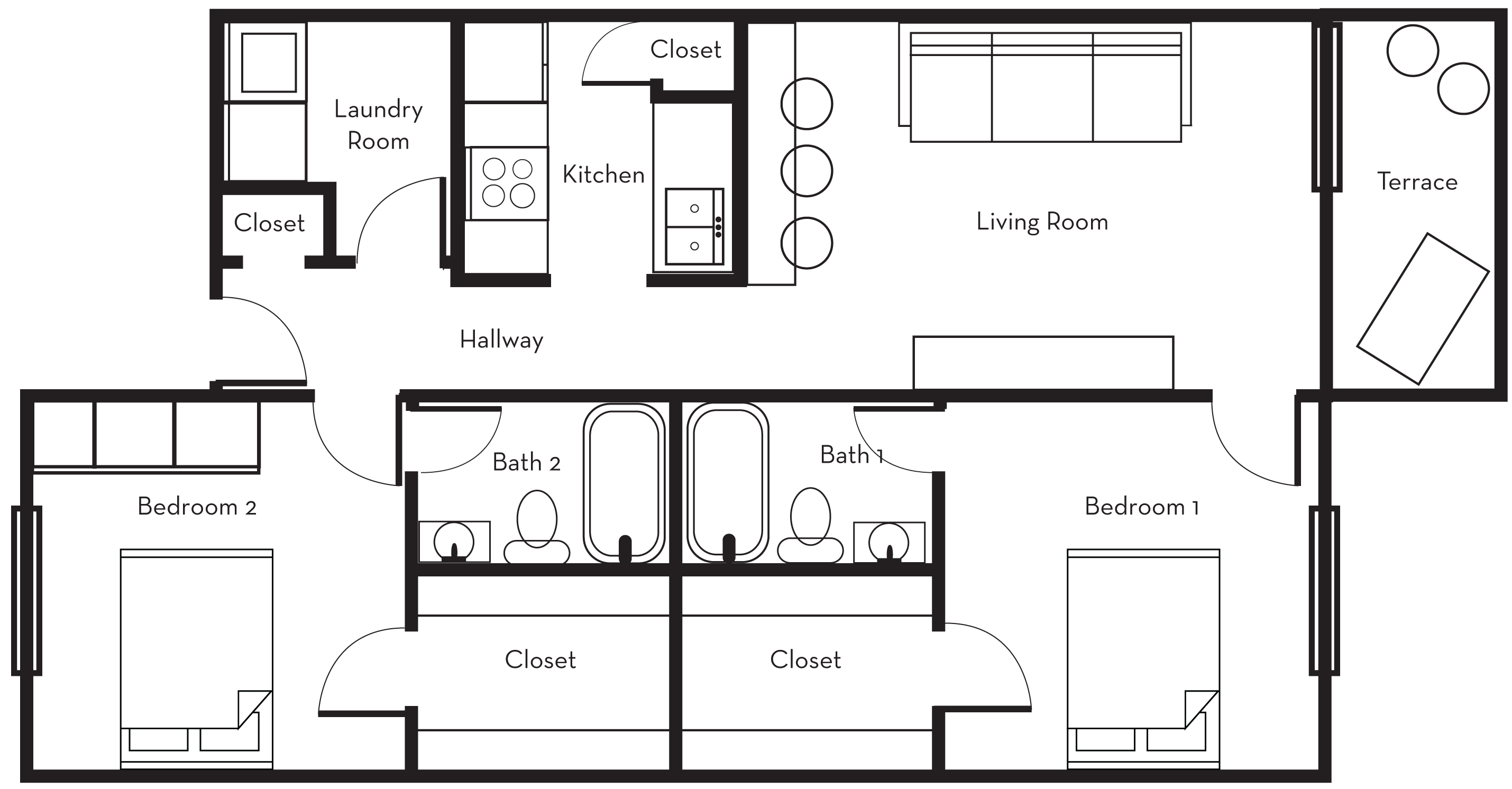 The George apartments in Statesboro, Georgia