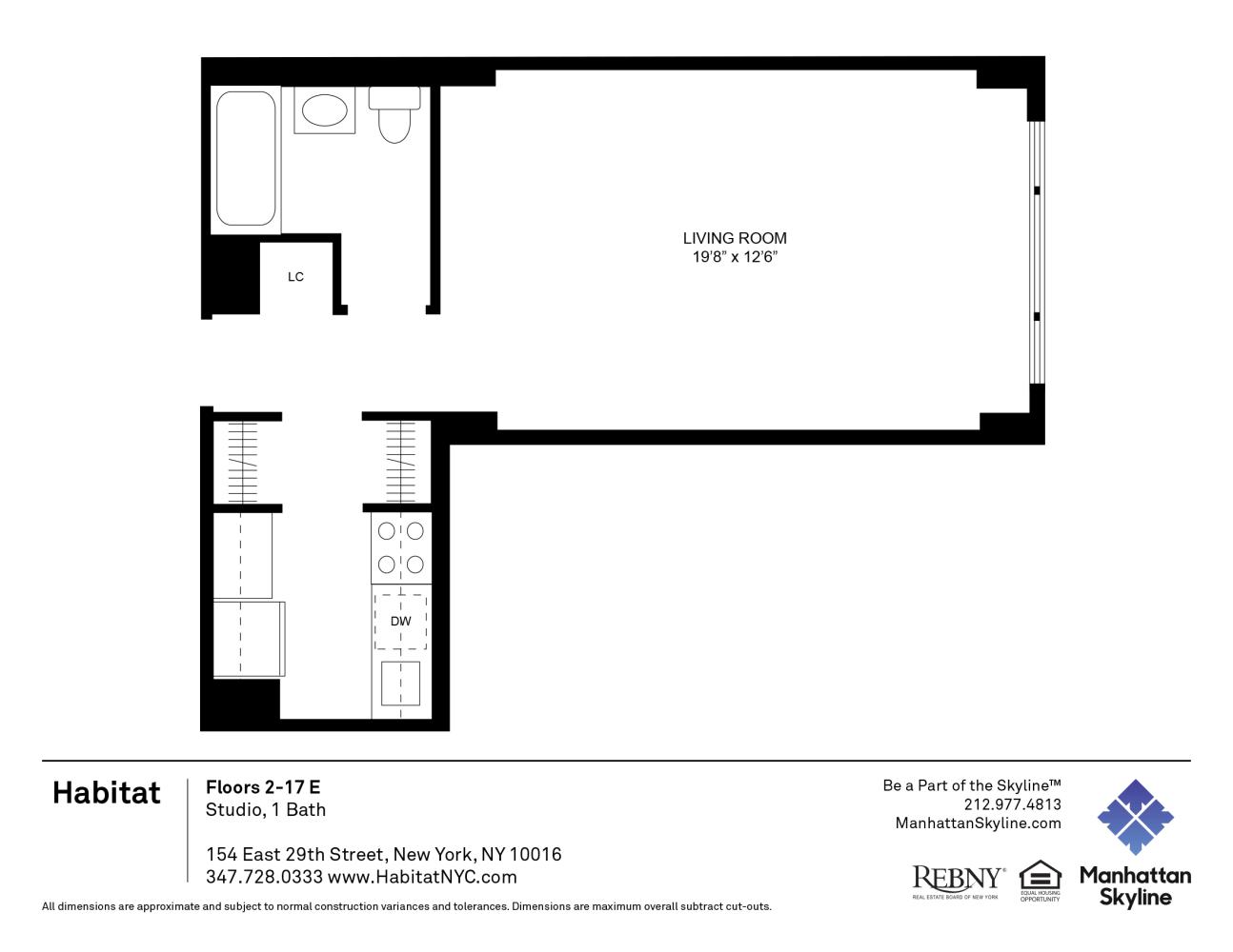 Habitat Apartments In New York New York