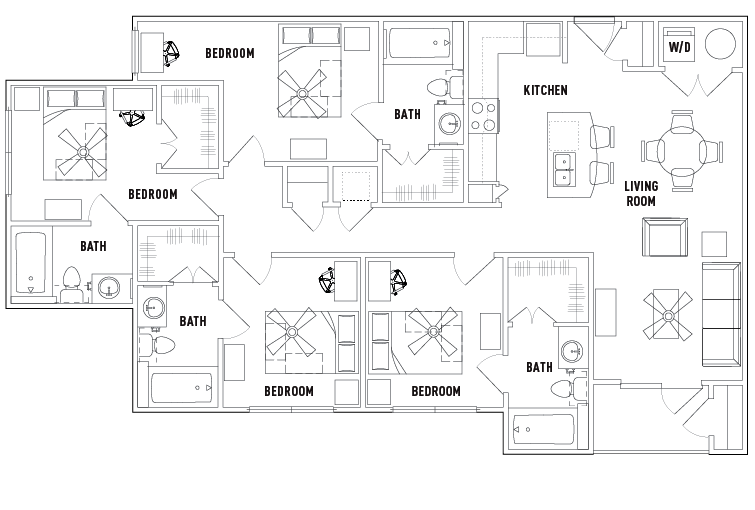 25 Twenty apartments in Lubbock, Texas