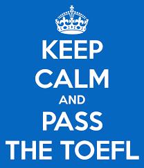cursos toefl y sat keep calm an pass the toefl
