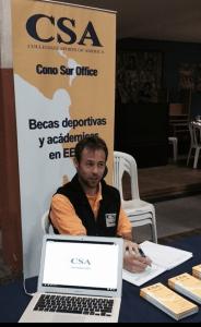 Marcel Felder tenista profesional y reclutador deportivo CSA Becas