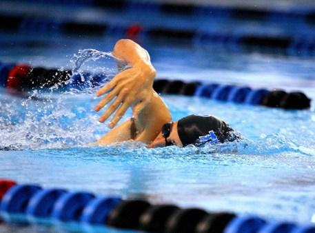 Swimming at the ISL
