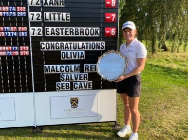 Olivia Lee won the Peter McEvoy English Open