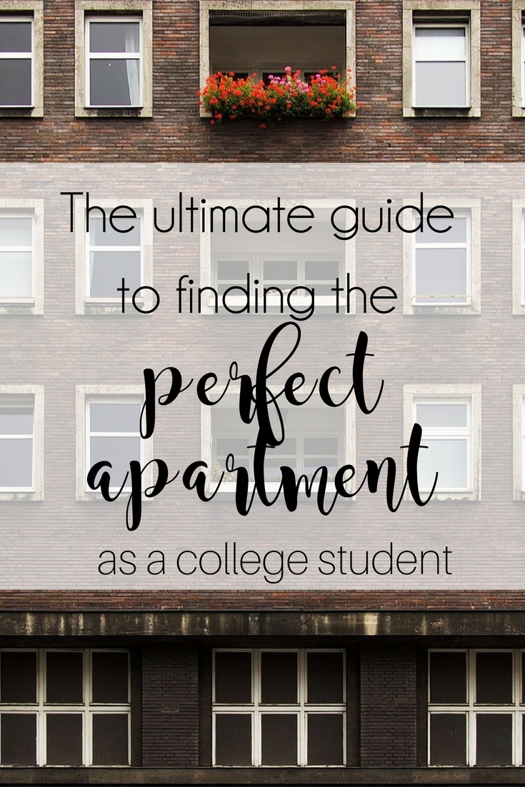 Find the perfect apartment