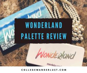 Wonderland palette review (& swatches!)