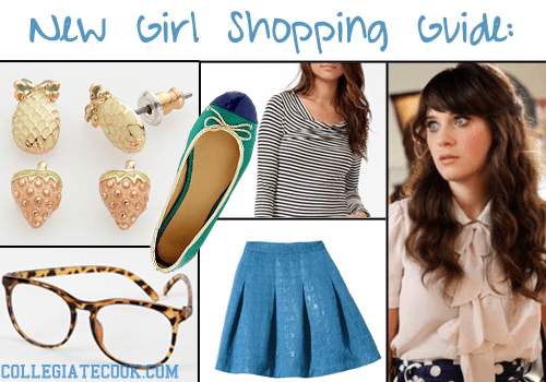 Here's how to dress like Zooey Deschanel/Jess from the New Girl