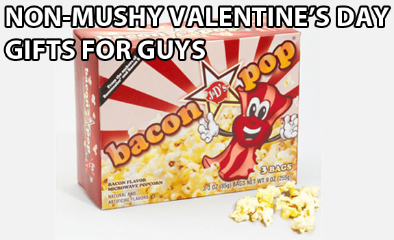 Non-Mushy Valentine's Day Gifts for Guys