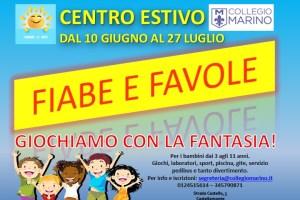 Centro Estivo 2019: Fiabe E Favole