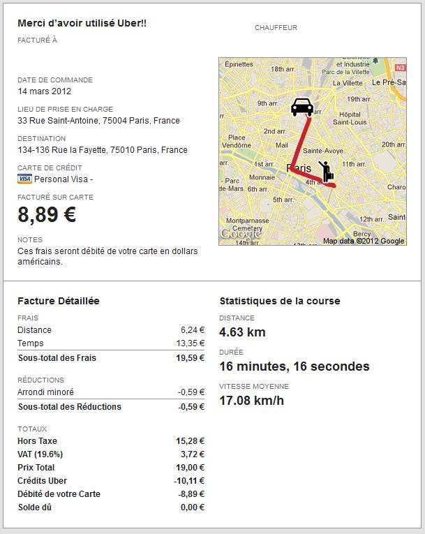 Carte Bleue Uber.J Ai Teste Uber Le Blog De Xavier