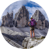 Self Guided Point to Point walking holidays from Kitzbuhel to Cortina