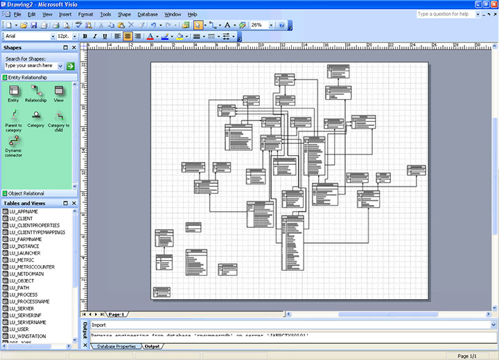 visio database model diagram template ezgo txt pds data lineage diagrams: a paradigm shift for information architects - collibra