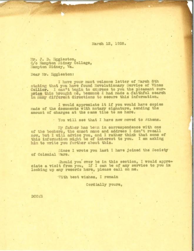 1928_03_12_Ltr DCC to J D Eggleston