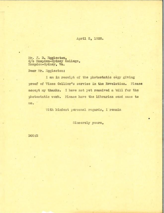 1928_04_02_Ltr DCC to J D Eggleston
