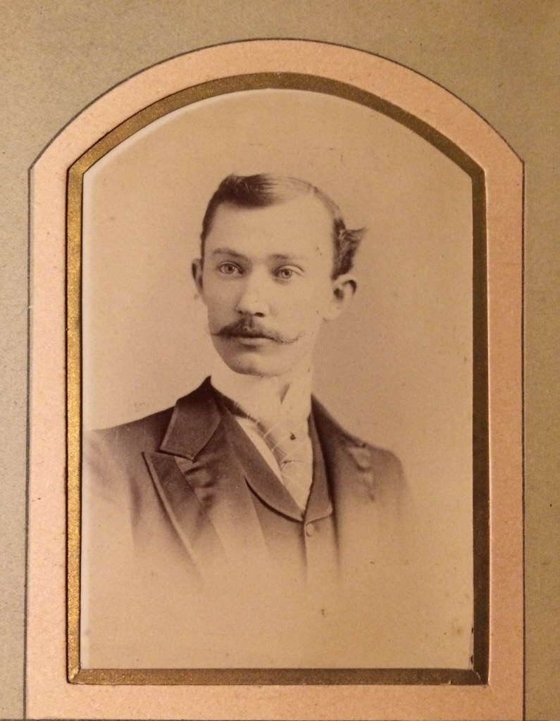 Jena Cuthbert Collier as a Young Man (b. 1866, d. 1944)