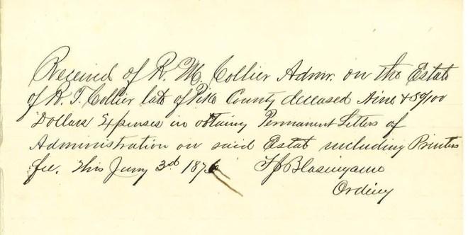 1876_01_03_RTC Estate legal doc fees