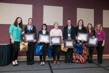 Top winners at the Collin College UISRC