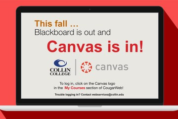 Blackboard is out and Canvas is in