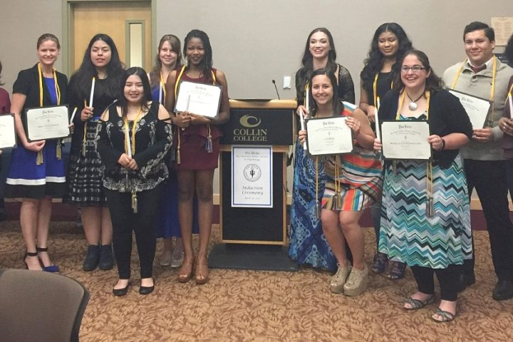 Collin College Psi Beta Chapter Recognized Nationally