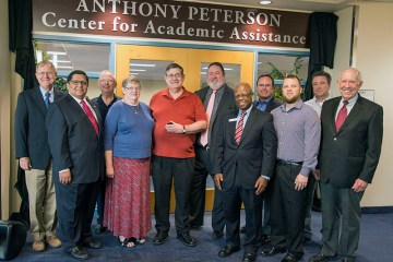 Anthony Peterson Room Dedication