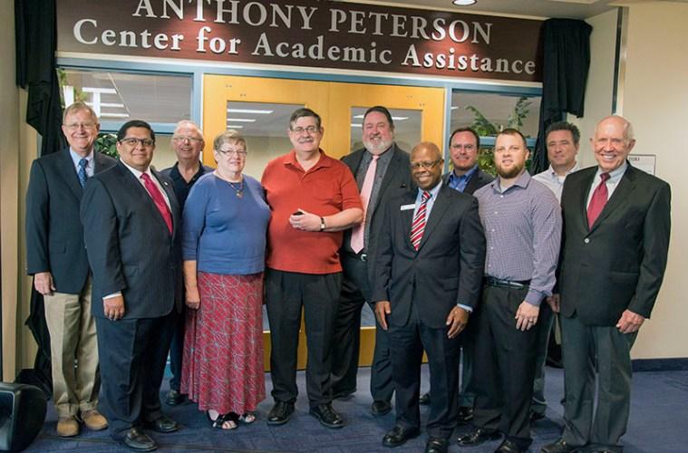 Anthony Peterson Room Dedication