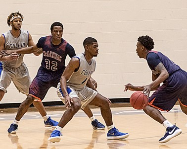 Collin College Cougar Basketball against McLennan College