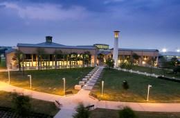 Preston Ridge Campus Library at night