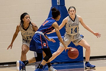 Collin College men's and women's basketball players earned All-Region and All-Conference honors for their performances in the 2020-21 season. The teams compete in the North Texas Junior College Athletic Conference (NTJCAC) in Region V of the National Junior College Athletic Association (NJCAA).