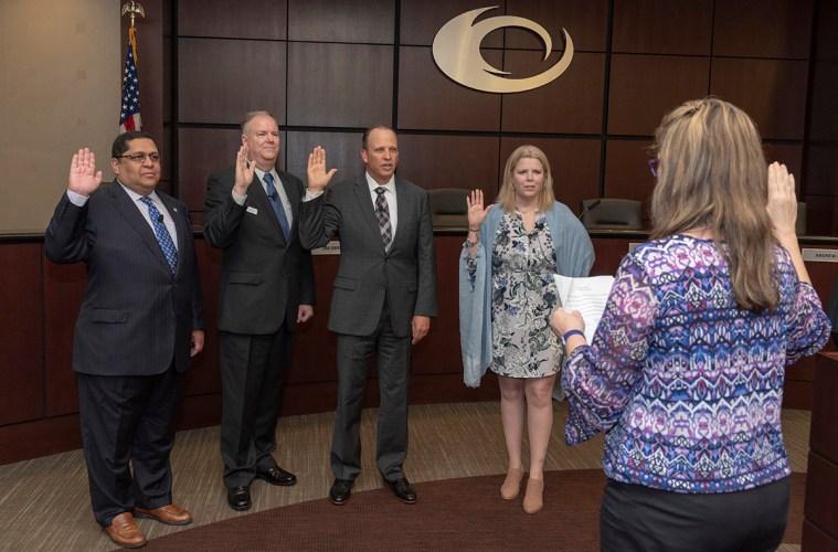 New Collin College Board of Trustees Sworn In – Collin