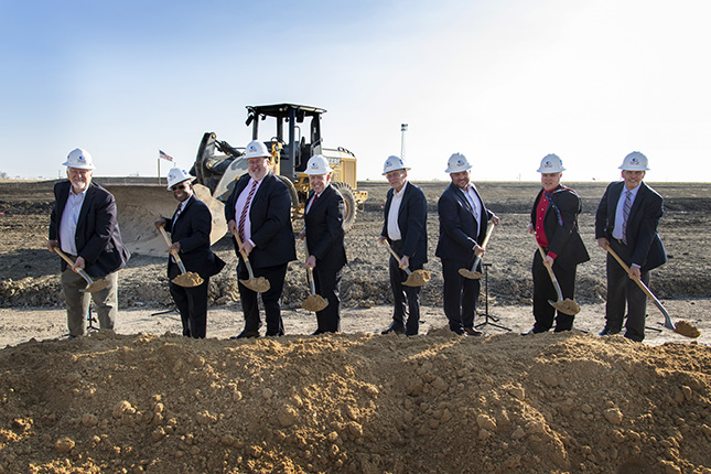 Officials broke ground on the Collin College Farmersville Campus, which is scheduled to open in fall 2021. The 52,000-square-foot campus, located at 2200 County Road 611 near the intersection of Audie Murphy Parkway (U.S. 380) and State Highway 78 in Farmersville, will provide greater access to higher education for the residents of eastern Collin County.