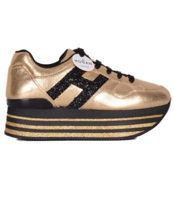 Hogan-lacci-maxi-platform-oro-1