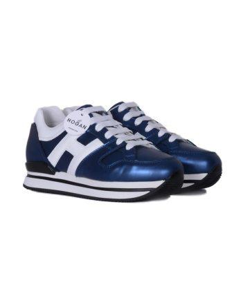 Hogan-lacci-h222-blu-metallizzato-2