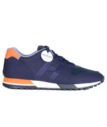 Hogan-lacci-running-trimateriale-blu-arancio-1