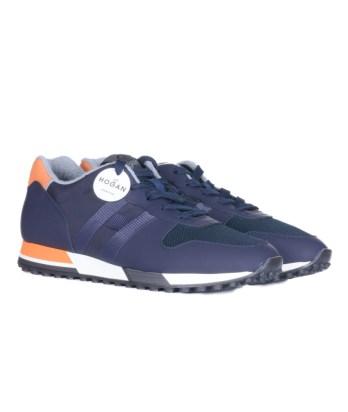Hogan-lacci-running-trimateriale-blu-arancio-2