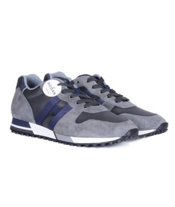 Hogan-lacci-running-trimateriale-grigio-blu-2