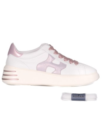 Hogan-lacci-sport-inspired-bianco-rosa-1
