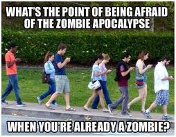 Cellphone zombies