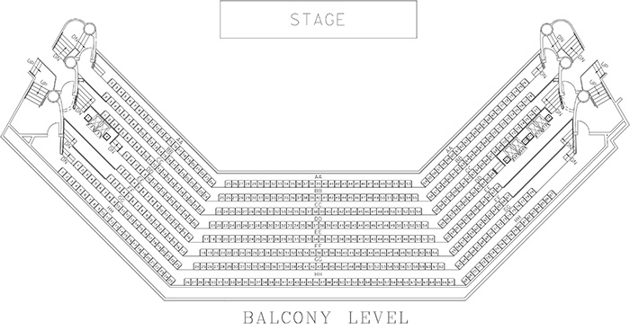Seating Chart  Collins Center for the Arts