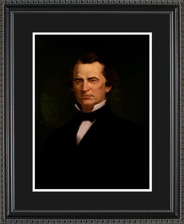 Andrew Johnson Portrait Historic Office Art