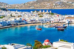 Mykonos definition and meaning | Collins English Dictionary